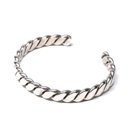 Vintage Mexican Twisted Bangle