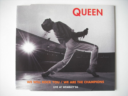 【CD Single】QUEEN / WE WILL ROCK YOU, WE ARE THE CHAMPIONS