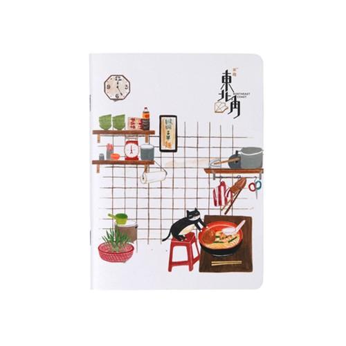 【 來趣東北角 】 ノート  レトロ台湾旅行 侯詷の麺屋さん