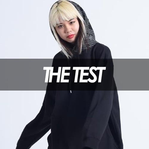 THETEST ×TREKKIE TRAX - ナイトカモBIGパーカー(BLACK)