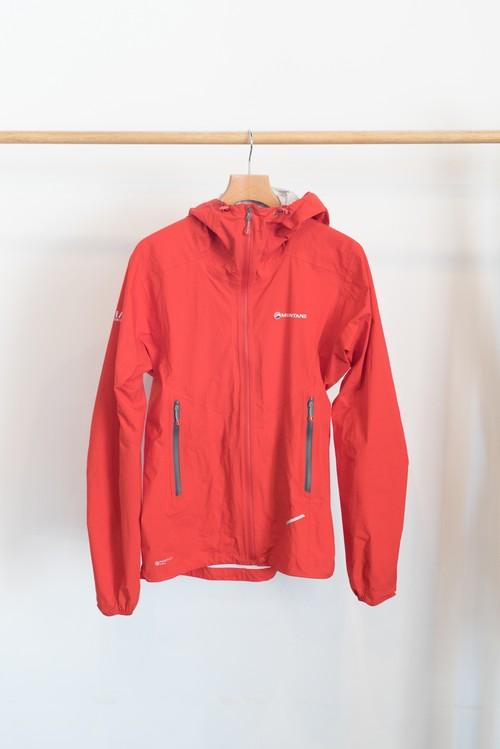 【OGZ USED】MONTANE MINIMUS STRETCH ULTRA JACKET / 色: Red / サイズ: S / モンテイン レインウェア