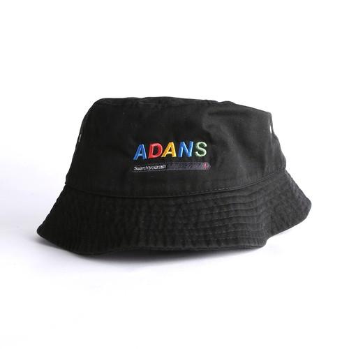 SEARCH BACKET HAT / BLACK