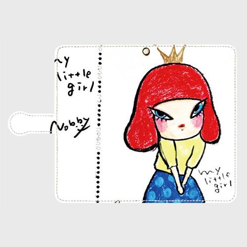 手帳型スマホケースL「MY LITTLE GIRL」