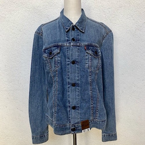 Dead Stock Euro Levis Women's Denim Jacket XL