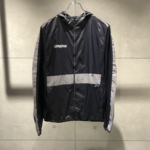 EXPANSION 093J NORWOOD WINDBREAKER JACKET / BLACK