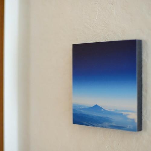 新生活を彩る 夏 《富士山 Blue Moment Ⅱ》 アートパネル  癒しのとき