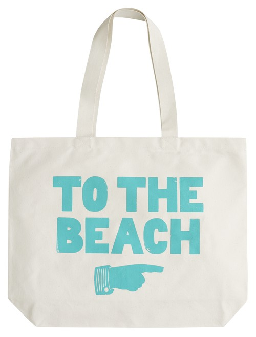 ビッグキャンバスバッグ To the Beach