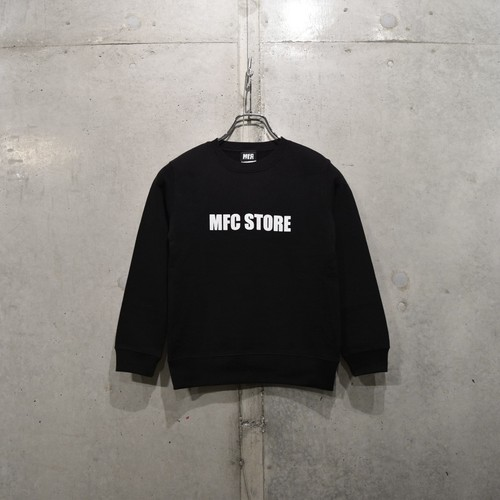MFC STORE SIDE LOGO KIDS CREWNECK / BLACK