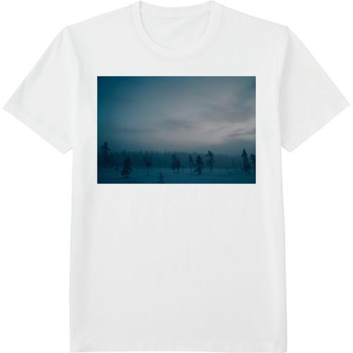 11.Finland100 Tシャツ / 霧の森