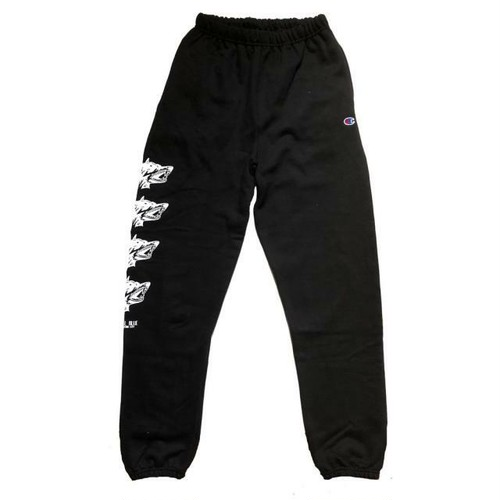 HOTEL BLUE GUARD DOG CHAMPION SWEATPANTS [BLACK]