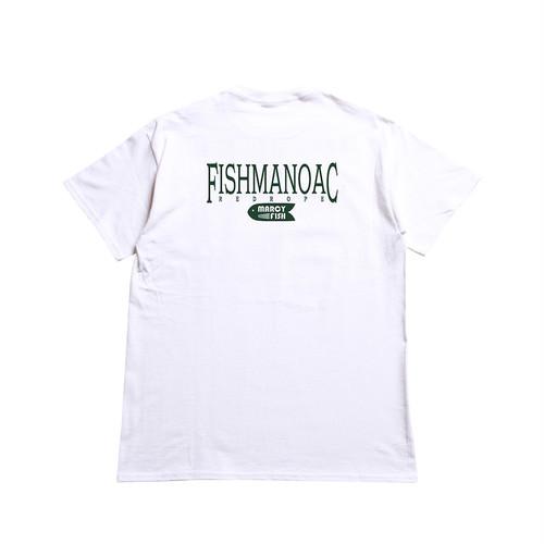 FISHMANOAC S/S TEE white