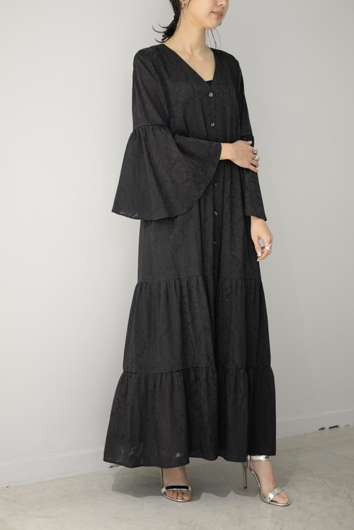 ROOM211 / Paisley Dress (black)