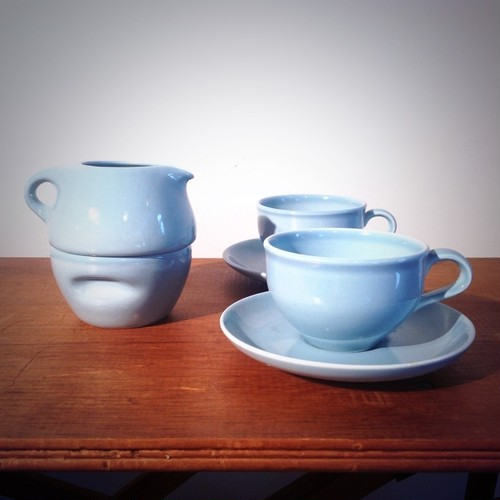 Russel Wright 1960's coffee set for two