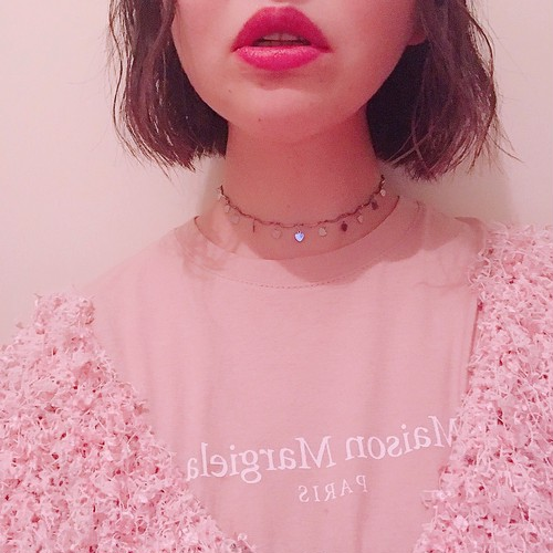 heart wave choker