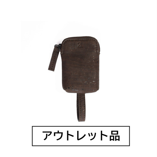 【アウトレット】キーケース 茶 【50%OFF】