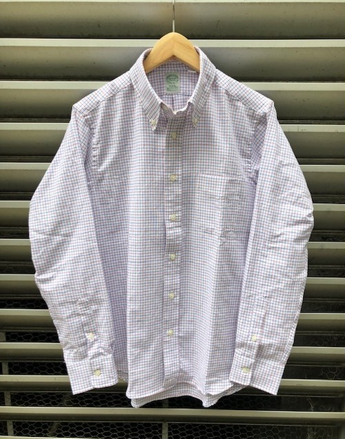 "KEATON CHASE USA   ""SINGLE NEEDLE TAILORING"" B/D SHIRT(IVY&NAVY別注)"