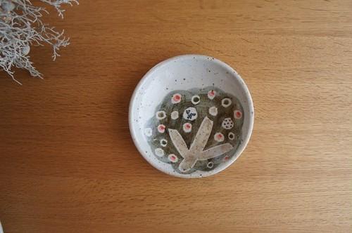 砥部焼/「小さな森」銘々皿(小)/森陶房Kaori