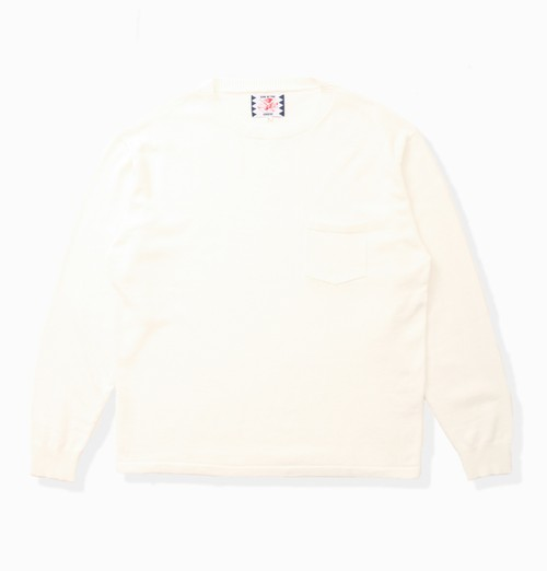 【SON OF THE CHEESE】C100 long sleeve(OFF WHITE)