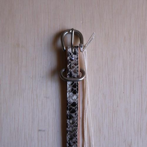"""Hender Scheme """"python tail belt""""(natural python)"""