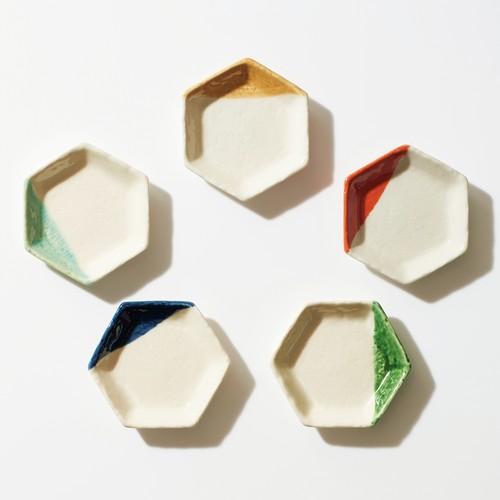 m.m.d.六角豆皿5枚セット[0130211965]