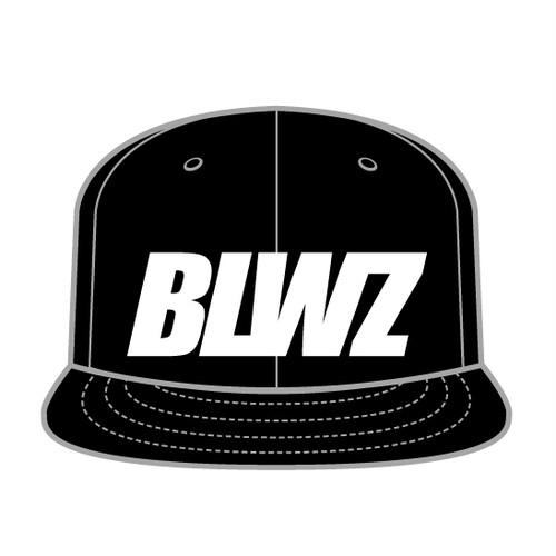BLWZ snap back cap BLACK