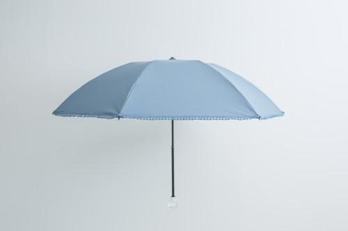折傘/晴雨兼用 フリンジ/アクリルリング