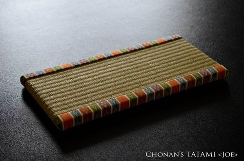 【金襴】雛人形にぴったりなミニ畳(い草)
