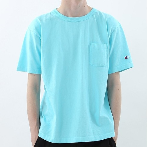 Champion / チャンピオン |【SALE!!】T1011 USA T-Shirt with pocket / オーシャン