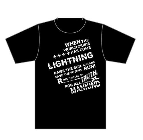 LIGHTNING◆RISE THE SUN Tシャツ