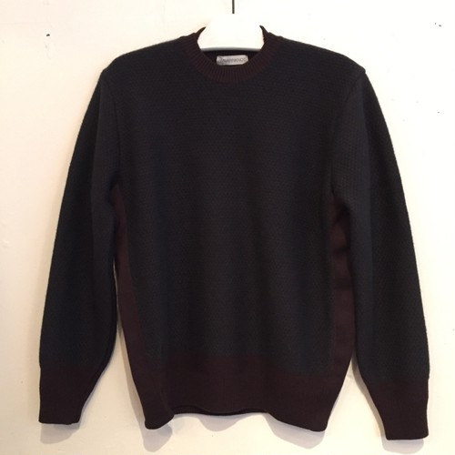 【WRAPINKNOT】TUCK CASHMERE DOUBLE-NECK PULLOVER [WK16AW-PO02M]