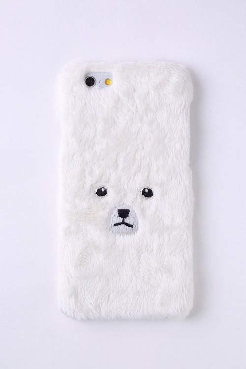 【梅雨セール2000円均一★】白くまiPhone6/6sハードケース