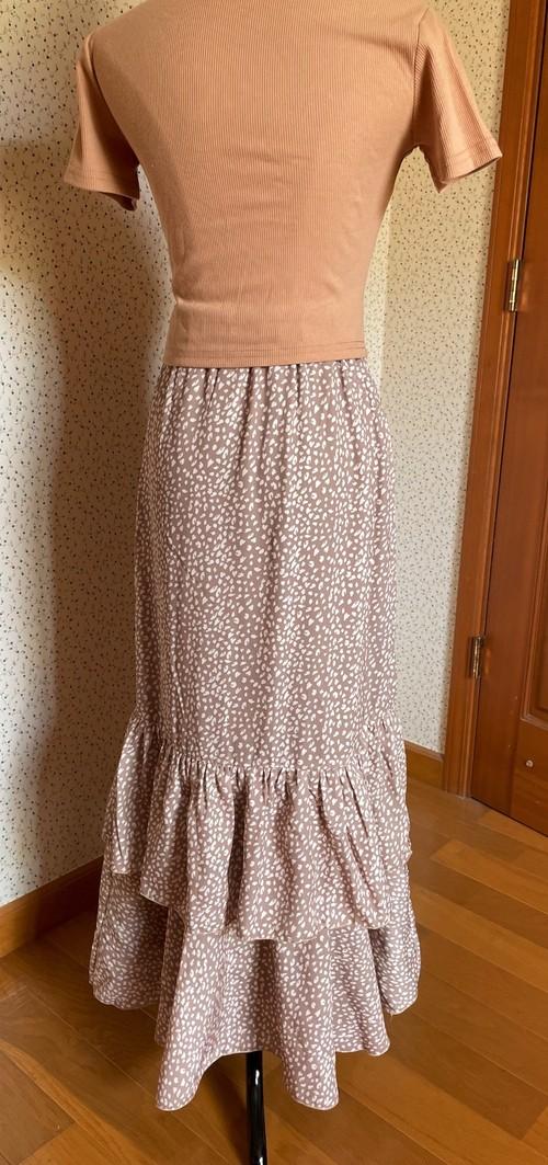 mysticロングスカート