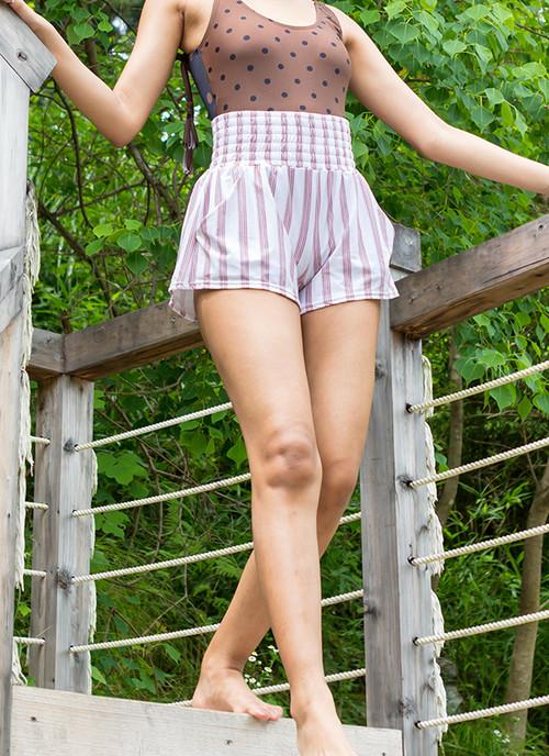 High Waist Shorts - Mayte