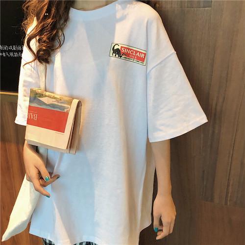 【トップス】快適なins新作韓国風合わせやすい超人気Tシャツ