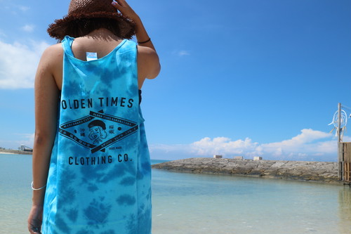 TRADE MARK TYE DYE TANK TOP