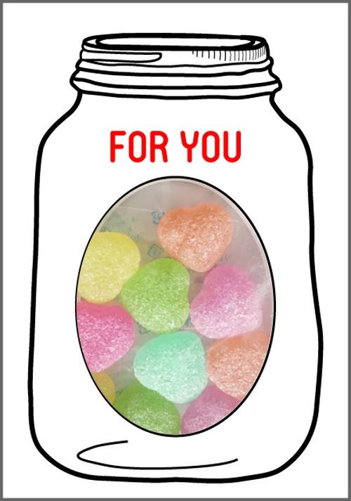 GREETING SWEETS ハートキャンディー 選べるメッセージ