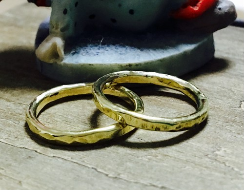 Brass rough ring 再販