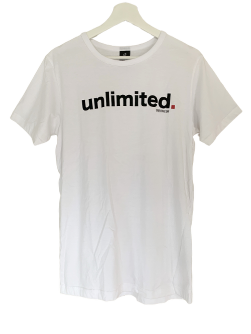 OVER THE SKY(オーバー ザ スカイ) / UNLIMITED GRAPHIC T-SHIRT