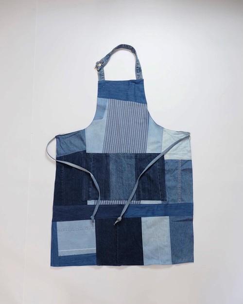 factory denim apron (light oz)