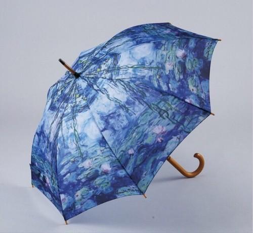 モネの傘-睡蓮