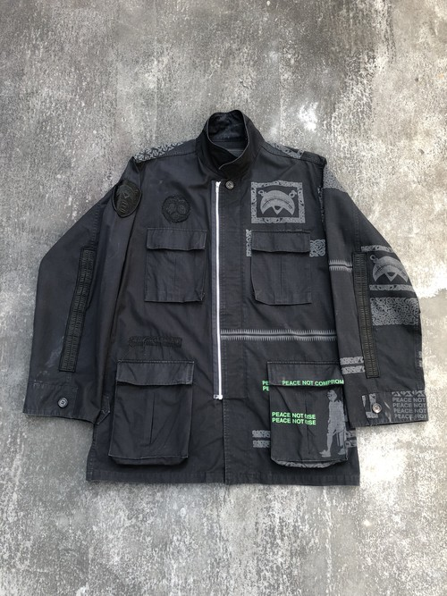 """UNDERCOVER / AD2003 """"scab"""" M-65 type jacket"""