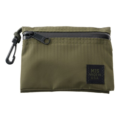 MIS-1040 W SMALL POUCH OLIVE