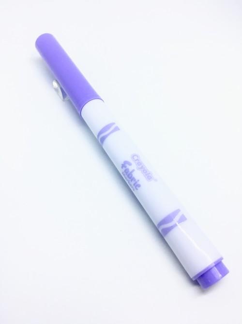 Crayola Fine Line Fabric Marker Purple