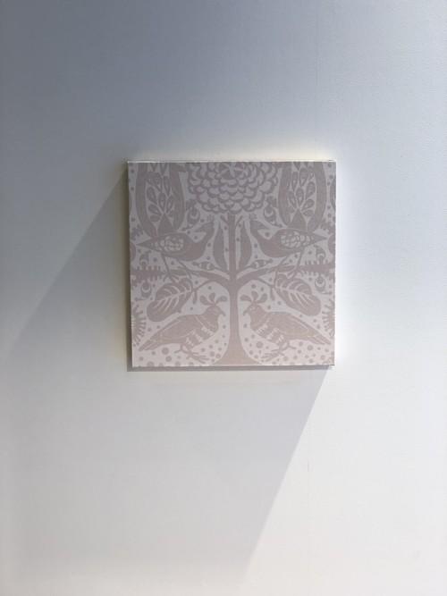 北欧アート ボタニカルなアートパネル<59124A20-a / Pink>