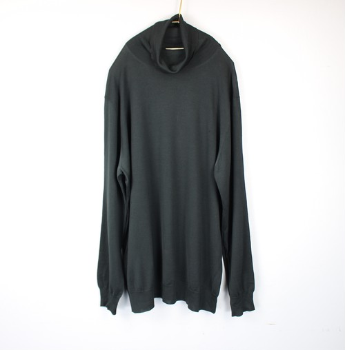 .HERMES SILK100% HIGH NECK KNIT MADE IN ITALY/エルメスシルク100%ハイネックニット 2000000045054