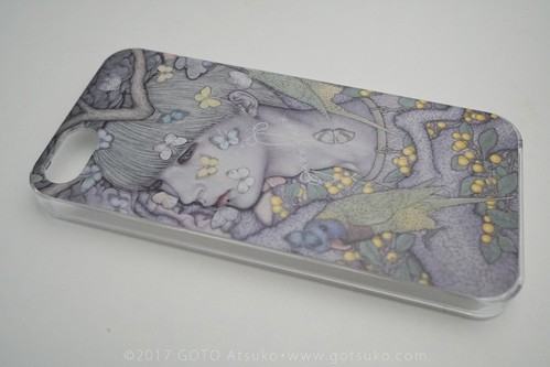 Smartphone case 夢見る怪物 IV/Dreaming monster IV for iPhone 5/5s/SE