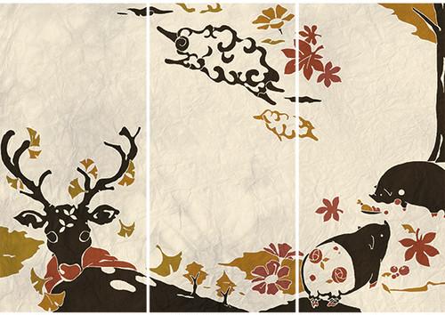 一筆箋『秋色』