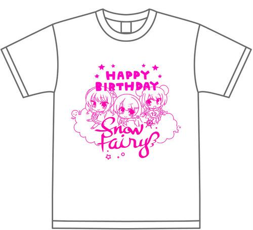 【SALE】Snow Fairy合同生誕Tシャツ