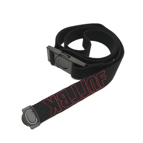 FULL-BK - OUTLINE LOGO BELT (BLACK)