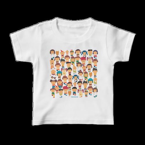「てくてくあるこう」キッズTシャツ
